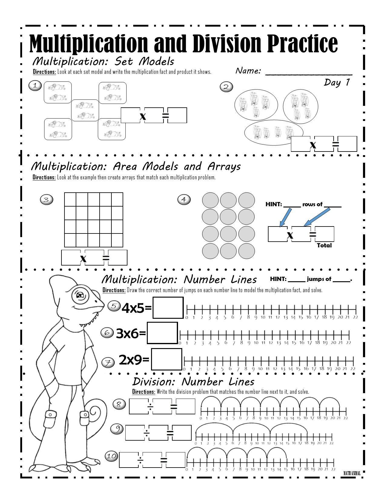 Pin On Multiplication Models