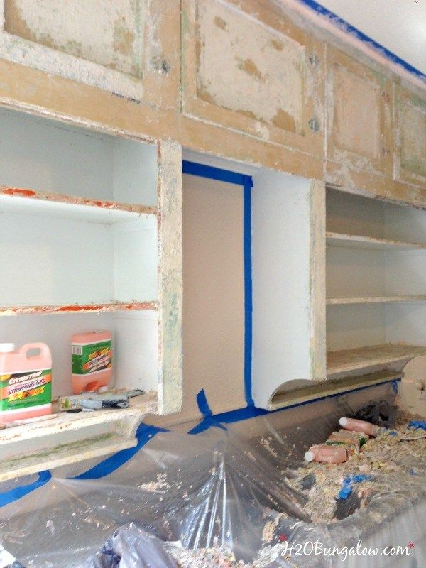 Part 2 Of How To Strip Paint Off Furniture And Kitchen Cabinets Covers All Size Stripping Jobs Big Or Small With Instructions Prep List Steps