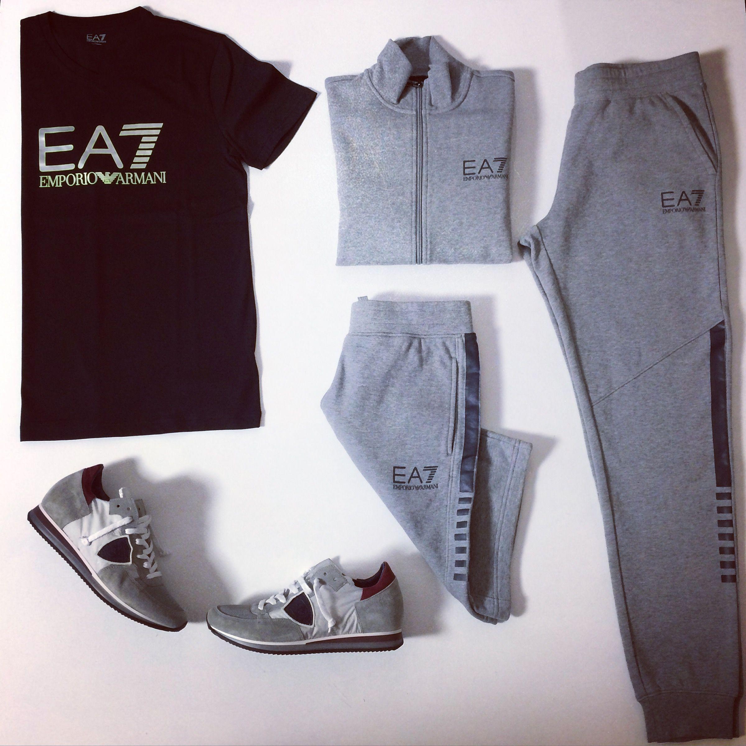 De perfecte outfit voor een heerlijk dagje thuis met EA7! | Wellens Men