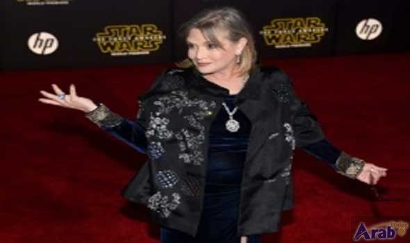 Star Wars actress Carrie Fisher fights