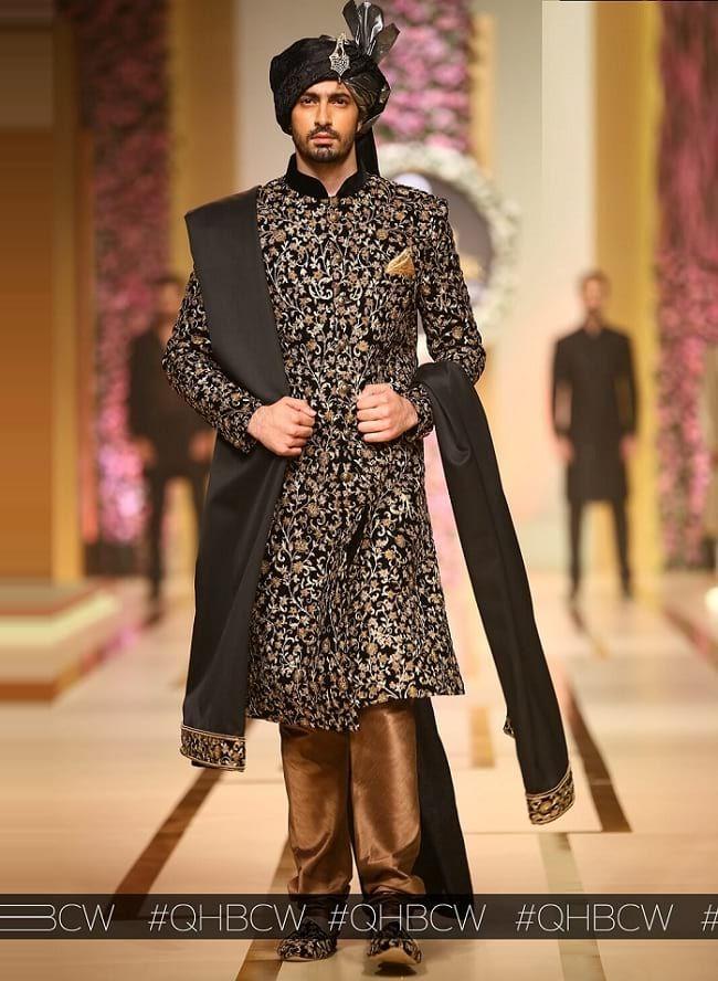 03eec9a820 31 Best Pakistani Groom Sherwani Designs for Wedding | Men's Wedding ...