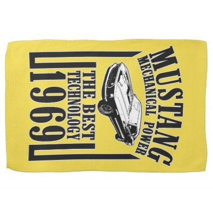 mustang kitchen towel - kitchen gifts diy ideas decor special unique individual customized