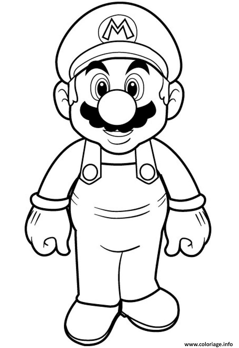 Coloriage Super Mario Bros Hd A Imprimer Coloriage Mario Coloriage Halloween A Imprimer Image Coloriage
