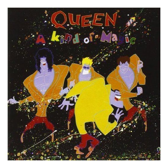 Queen A Kind Of Magic 2011 Remaster Deluxe Edition Queen Albums Album Cover Art A Kind Of Magic