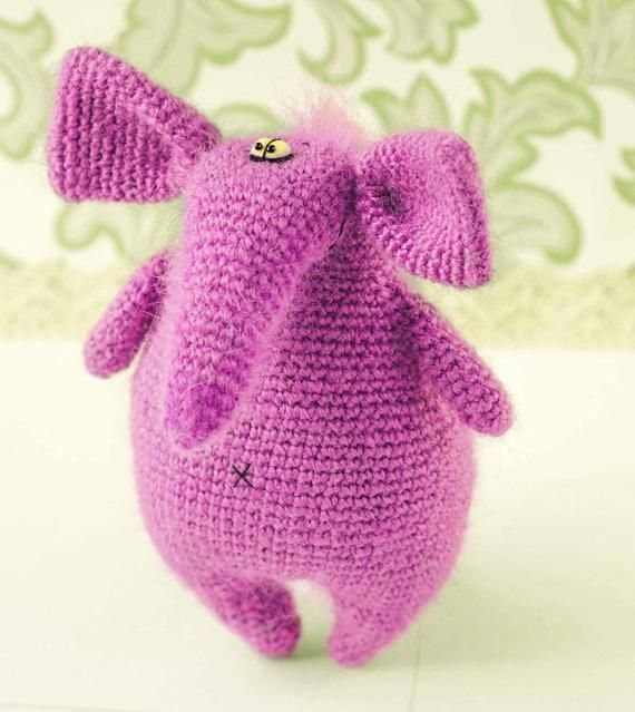 Elephant pattern crochet elephant pattern amigurumi pattern crochet toy pattern crochet elephant pattern amigurumi stuffed toy easter gift