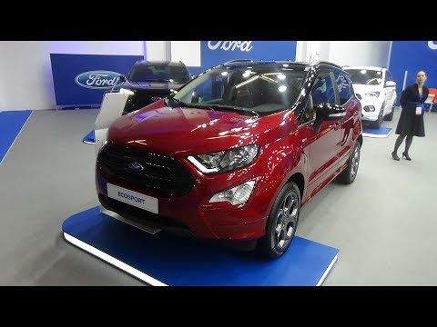2019 Ford Ecosport St Line 1 0 Ecoboost 125 Exterior And