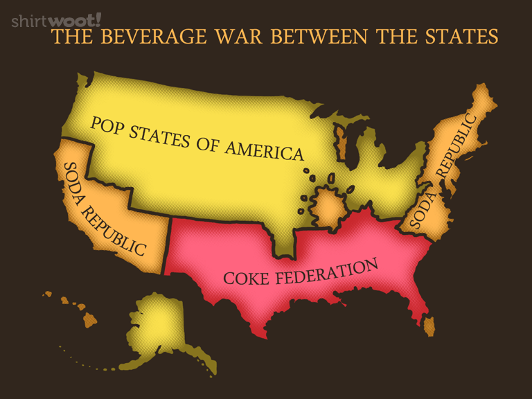 The Beverage War Between the States for $15