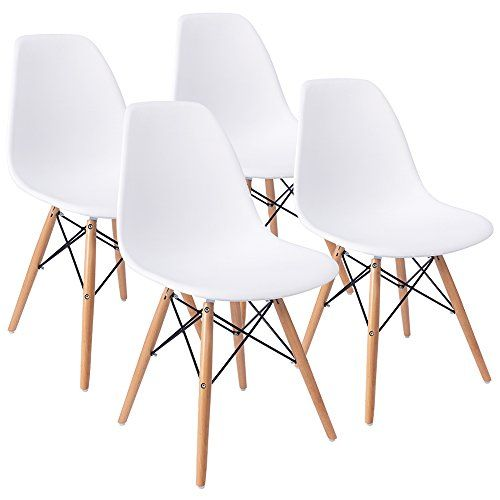 Furmax Mid Century Modern Style Dining Chair Pre Assemble... Https://