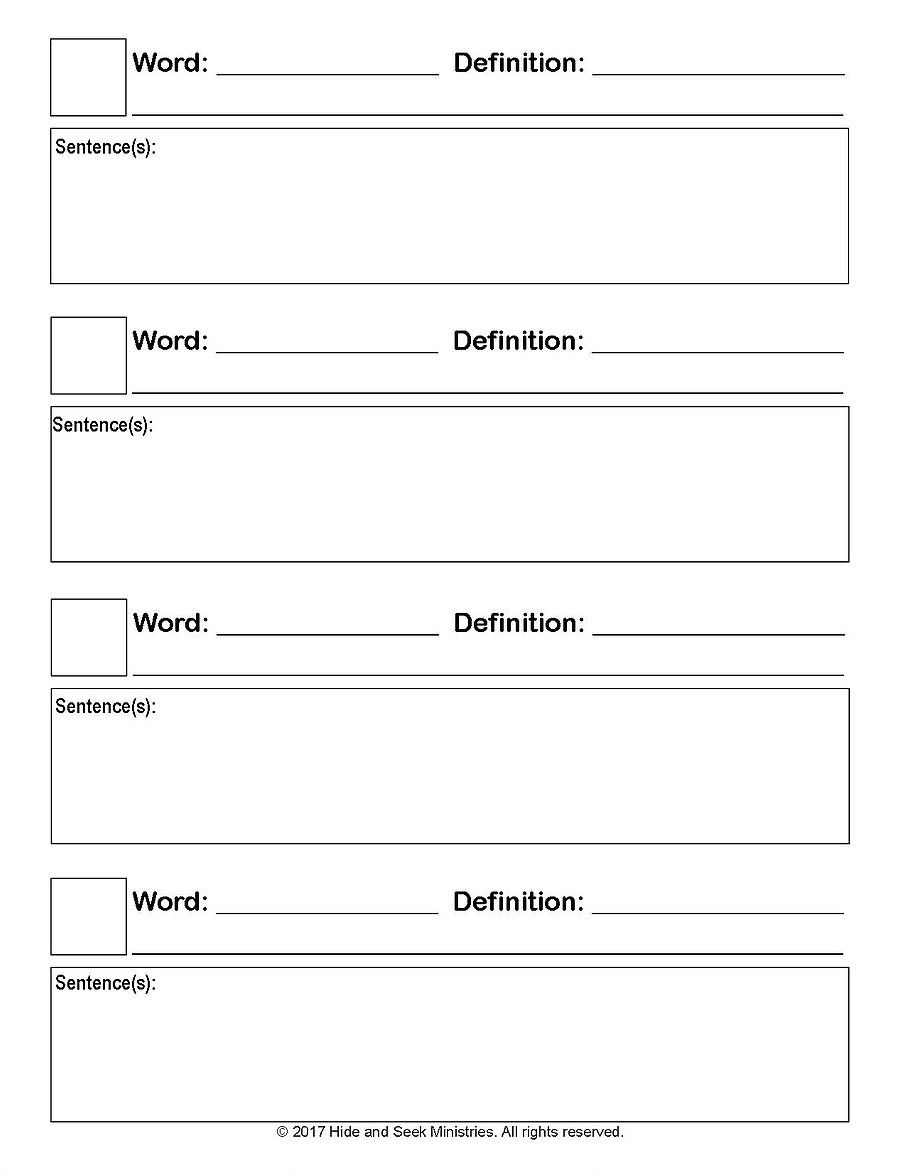 Awesome Collection of Dictionary Skills Practice Worksheets On Job ...