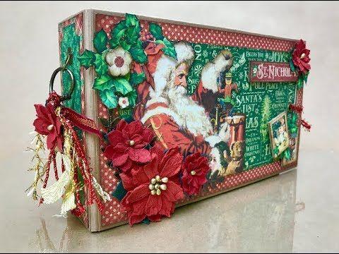 G45 St. Nicholas Christmas Mini Album