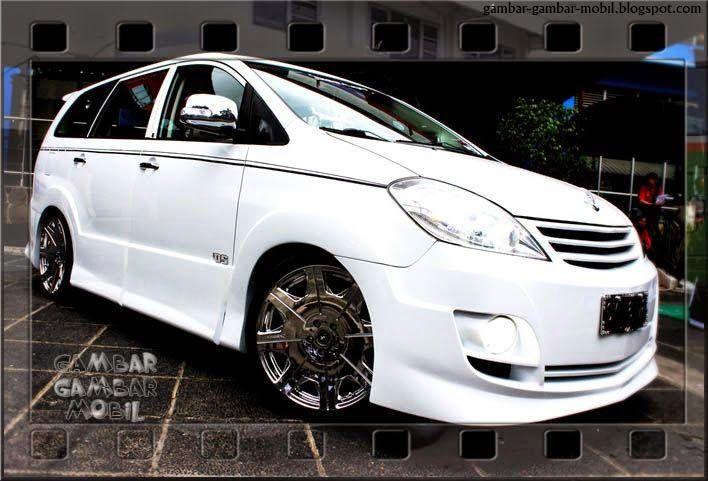 Gambar Mobil Kijang Innova Modifikasi Toyota Pinterest Toyota