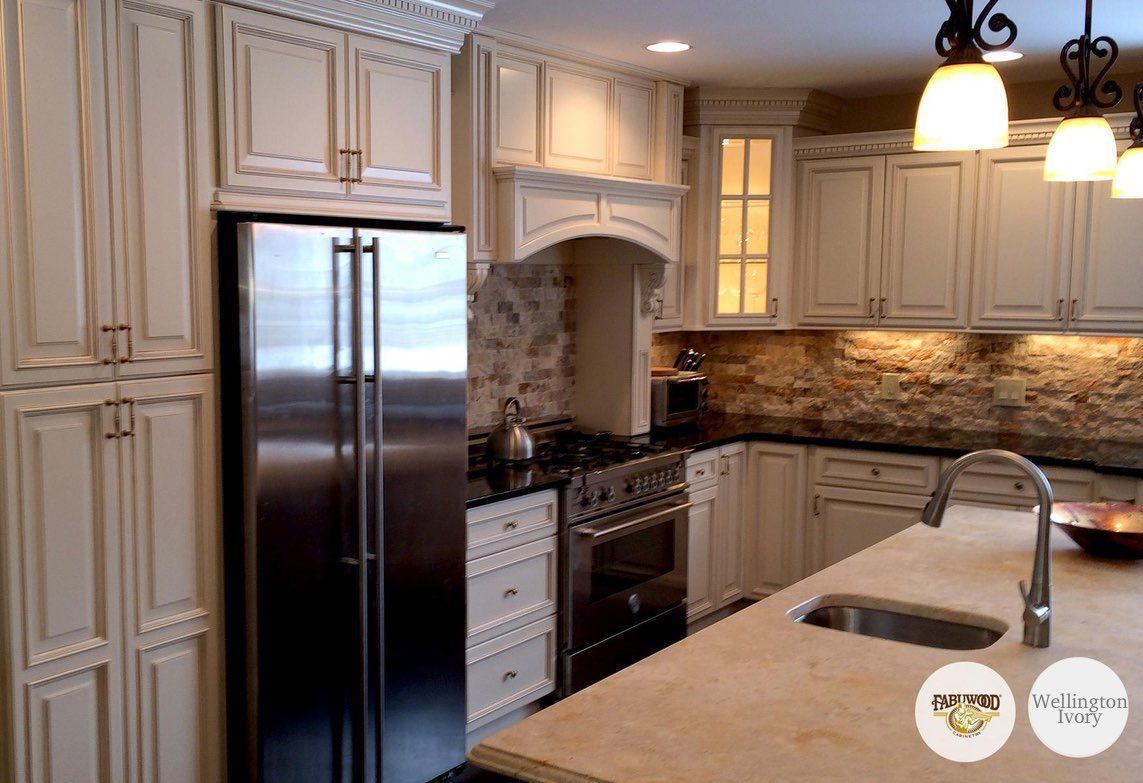Wellington Ivory Kitchen Cabinets In 2020 Ivory Kitchen Kitchen Remodel Kitchen Cabinets