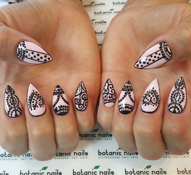 Pin de vanessa Aljustrel en unhas | Pinterest | Mandalas