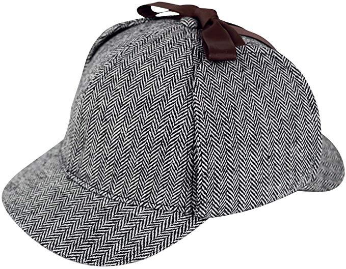Sherlock Holmes Caps Detective Hats Deerstalker Hat Deerstalker Hats