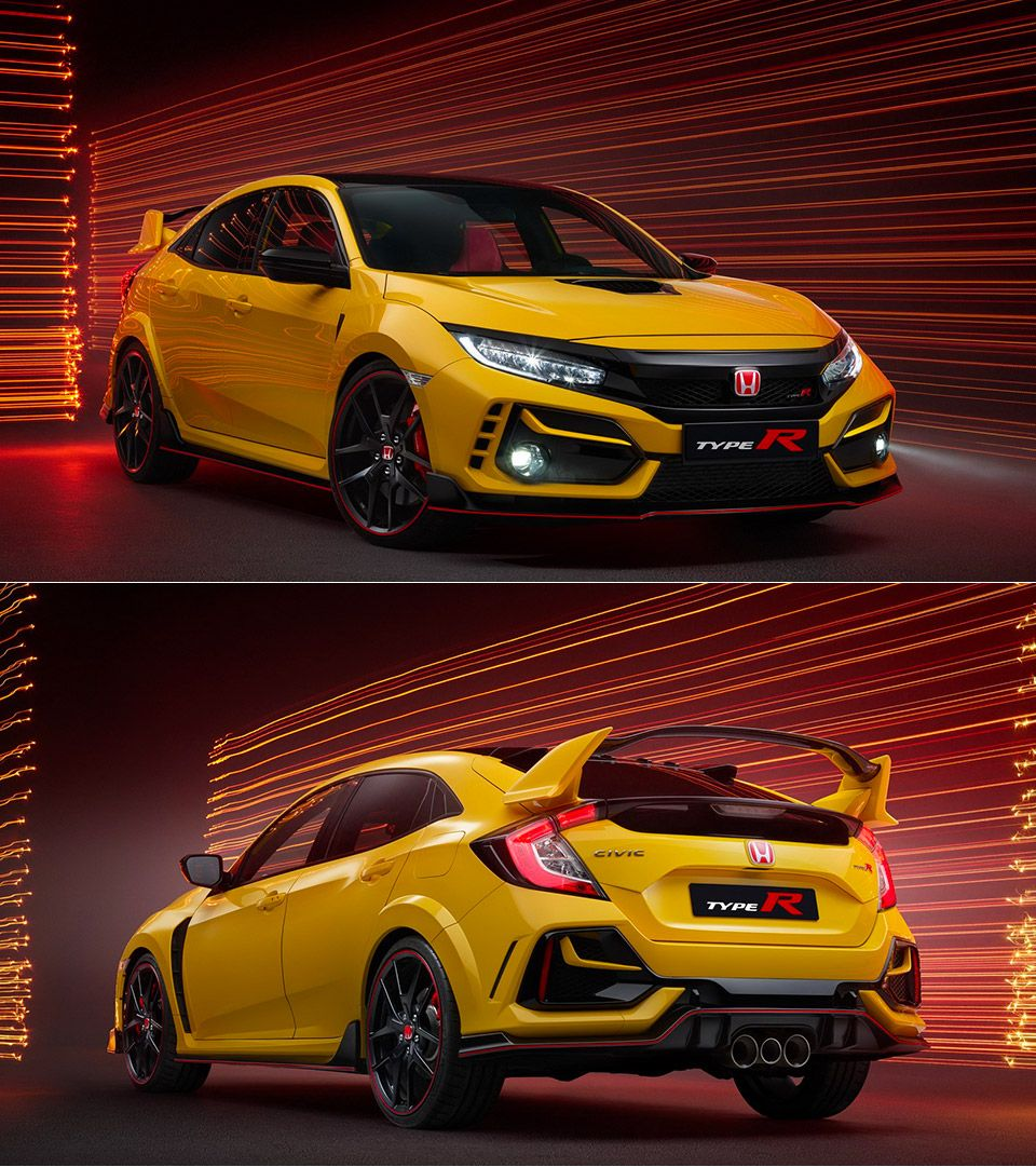 2021 Honda Civic Type R Limited Edition Revealed Honda Civic Type R Honda Civic Honda Civic Vtec