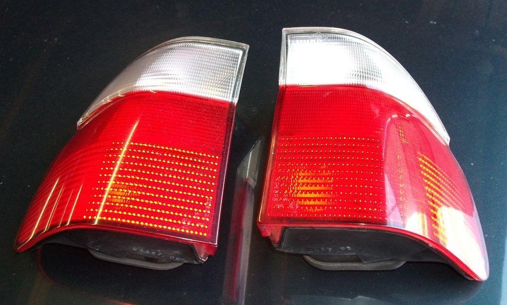 Pair Genuine Bmw 5 Series E39 Pre Facelift Clear Touring Sport
