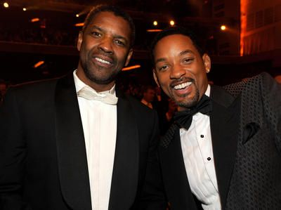 Will Smith and Denzel Washington in a movie together? - (Photo by Kevin…