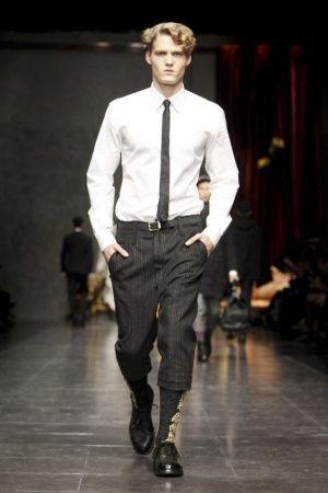 Short pants - Dolce & Gabbana Fall Winter Menswear 2012 Milan