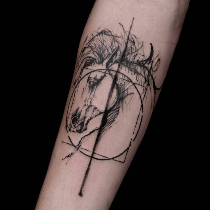 ▷ 1001 + idées de tatouage graphique pour choisir le design pour vous