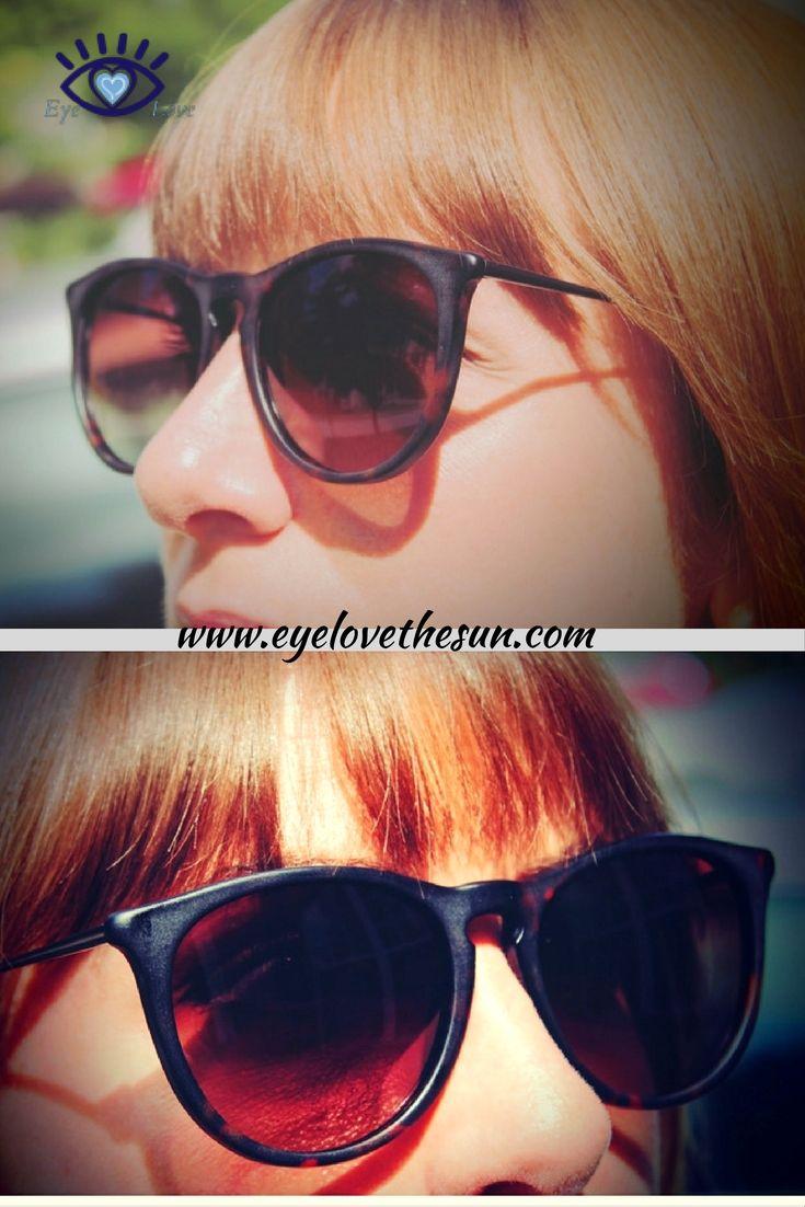 Polarized Women's Designer Sunglasses by Eye Love, Glare