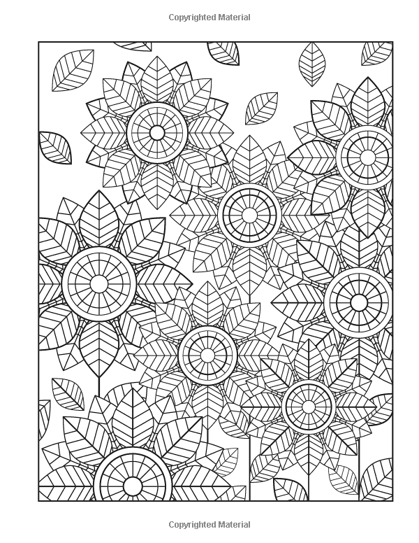 Pattern And Design Coloring Book Volume 1 Jenean Morrison