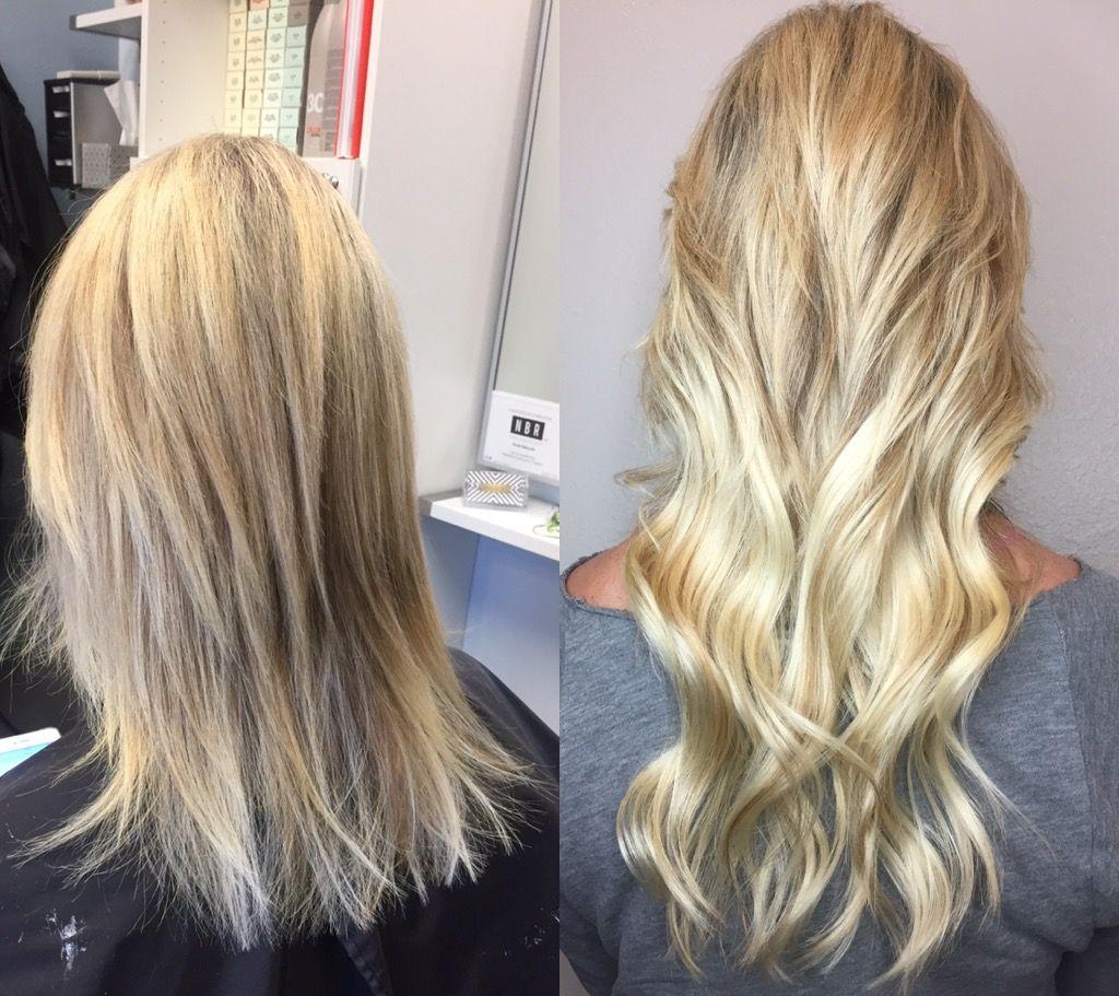 Blonde Hair And Nbr Hair Extensions Phoenix Az My W O R K Hair