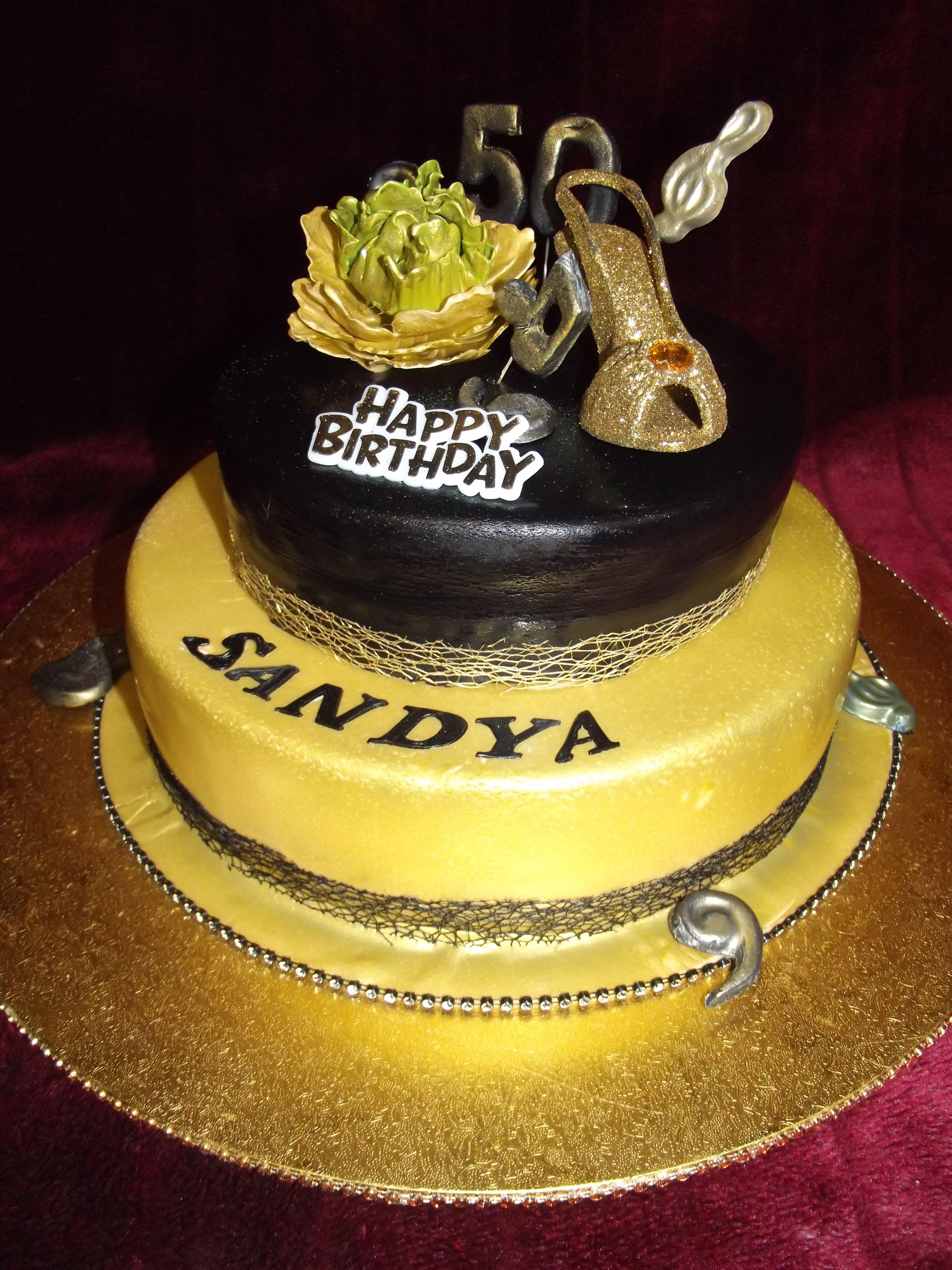 50th Birthday Cake For Sandya Frescofoods Email Fresco
