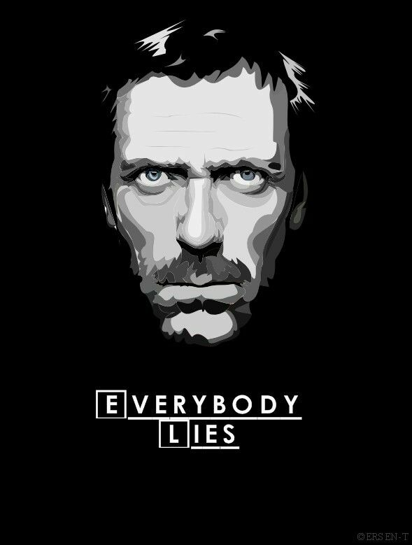 Pin By Allysa Ramos On Wallpaper Everybody Lies House Md Poster
