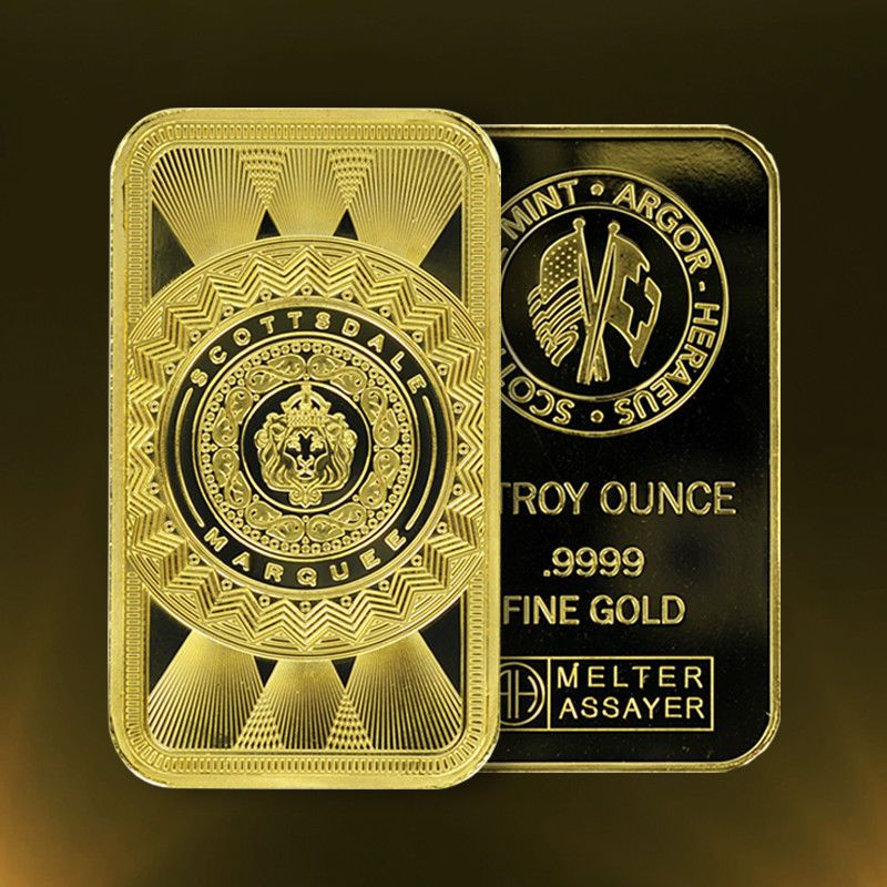 Special Price 1 Oz 9999 Gold Bar Scottsdale Marquee In Certi Lock A453 Gold Bar Gold Investments Gold Bullion