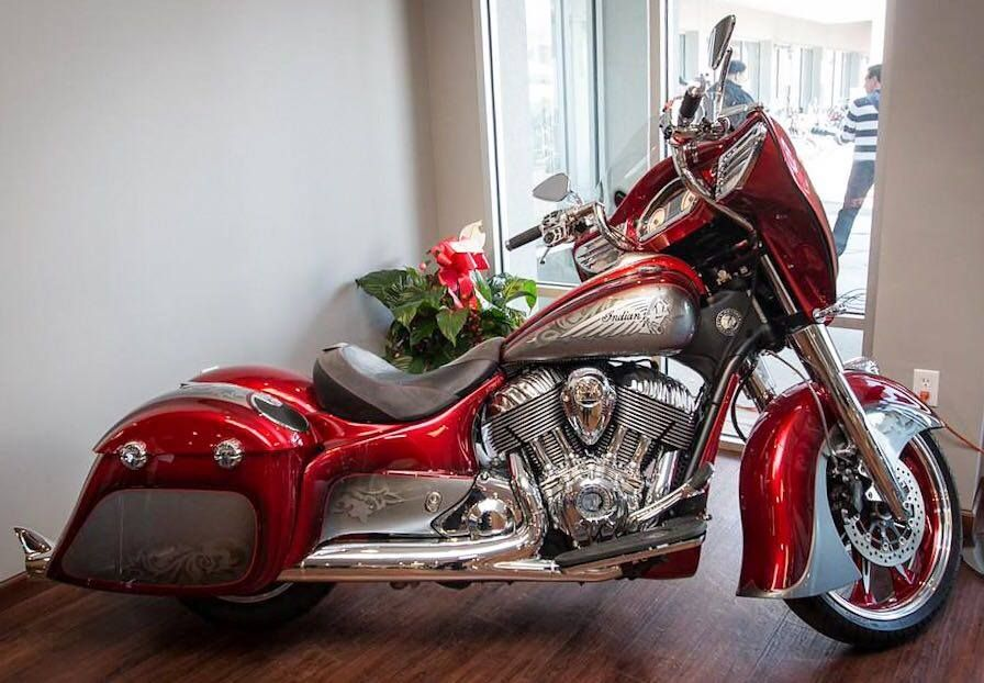 2015 Indian Motorcycles Custom Paint Details