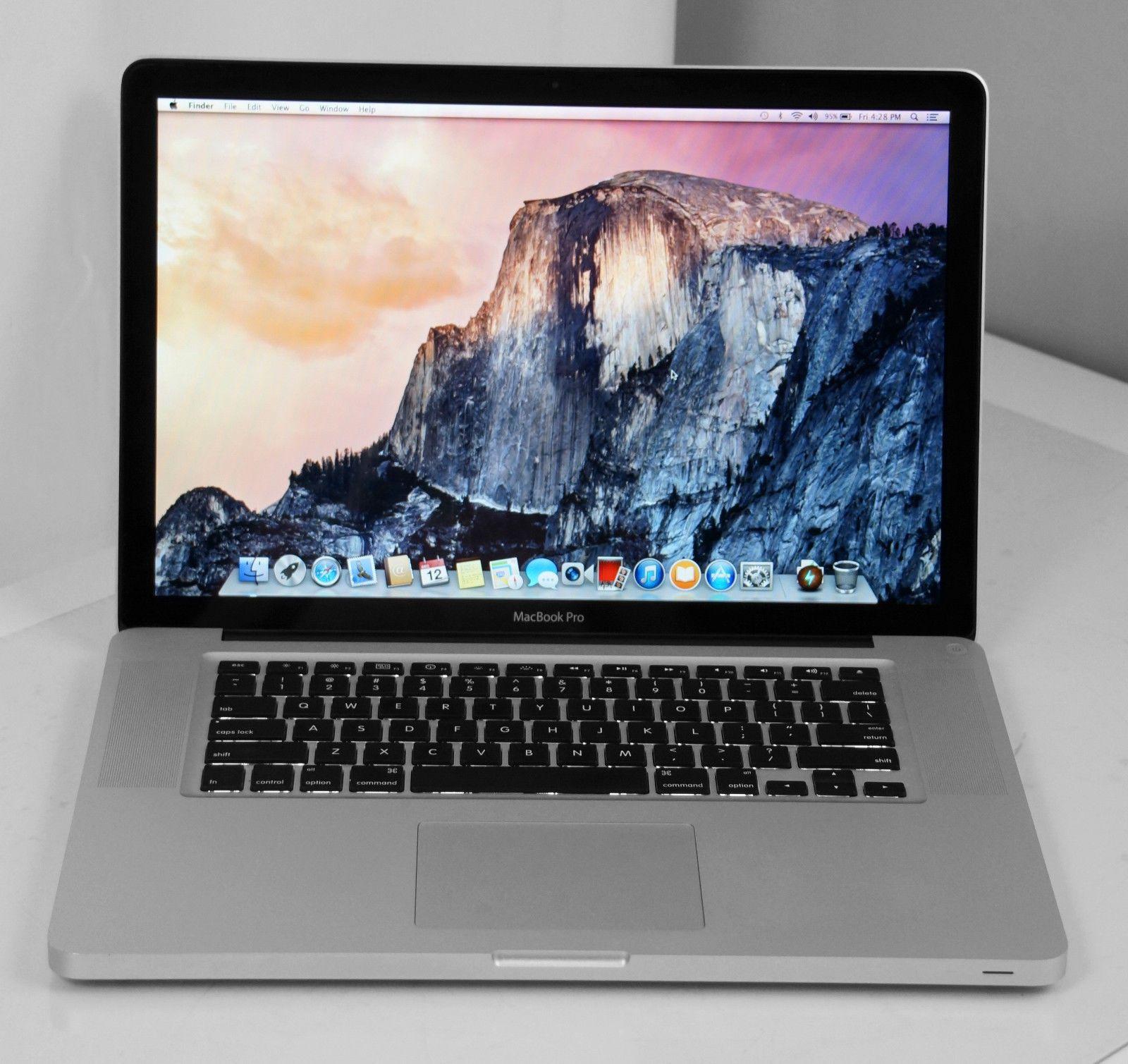 "13"" Apple MacBook Pro 2009 2.53GHz Core 2 Duo  8GB 500GB  MB991LL/A  Warranty"