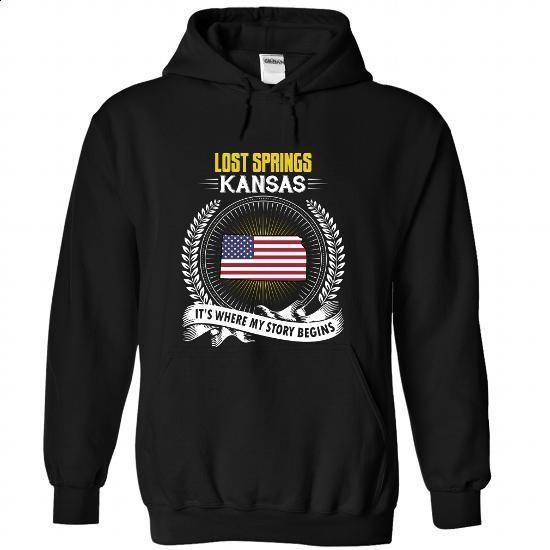 Born in LOST SPRINGS-KANSAS V01 - #hoodie costume #oversized sweatshirt. PURCHASE NOW => https://www.sunfrog.com/States/Born-in-LOST-SPRINGS-2DKANSAS-V01-Black-Hoodie.html?68278