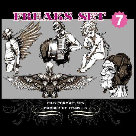 Freaks Vector Set 7