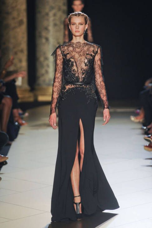 // Elie Saab, Fall 2012 Couture.