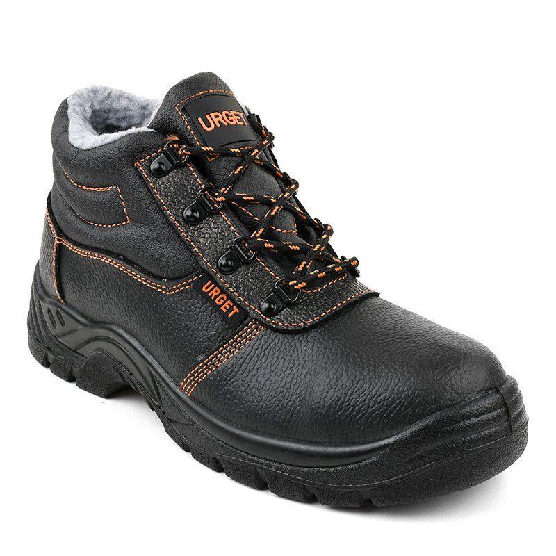 Czarne Meskie Obuwie Ochronne Xh009d Hiking Boots Shoes Boots
