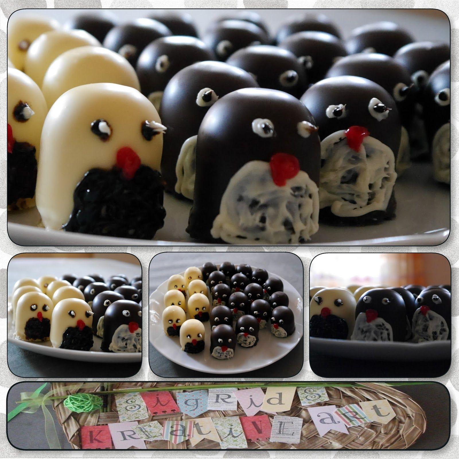 Sigrids kreative ART: Invasion der Pinguine