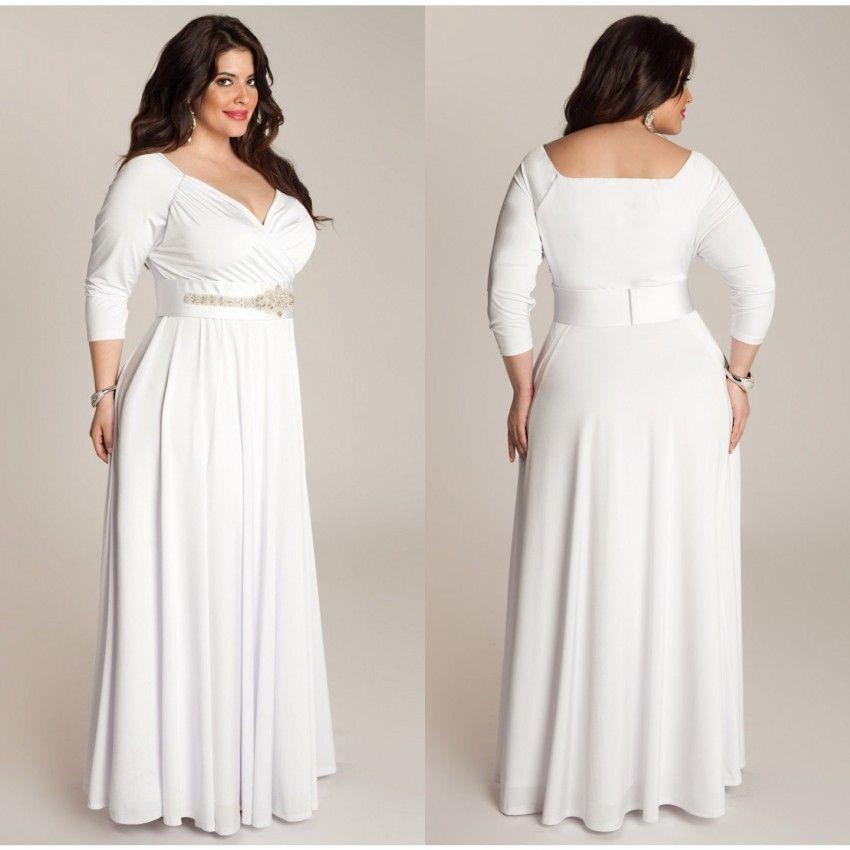 3 4 sleeve plus dresses club   color dress   pinterest   sleeved dress
