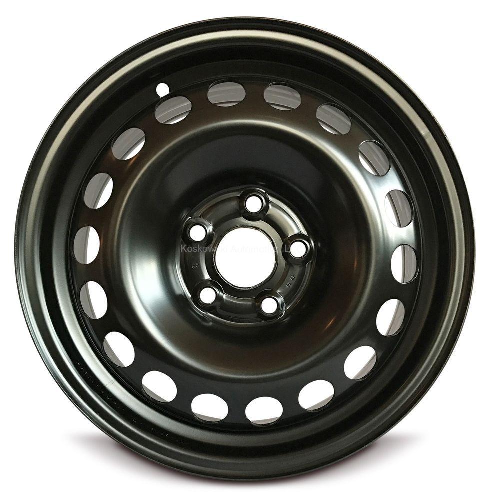 New Steel Wheel Fits Volkswagen Jetta Vw 06 16 1k0601027h Chevrolet Sonic Steel Rims Black Steel Wheels