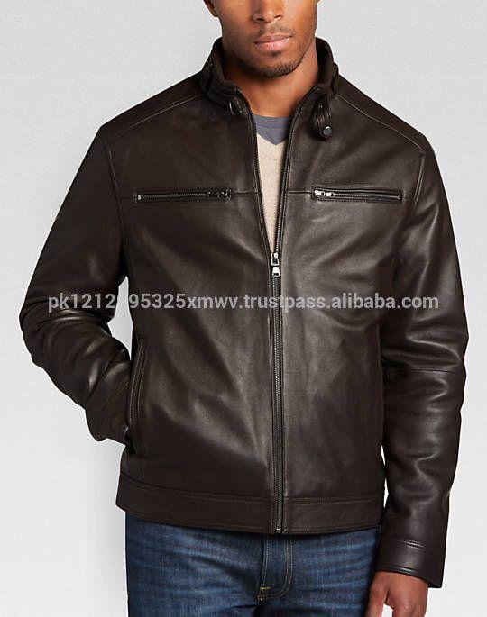 Best Quality Men Stylish Leather Jacket Wholesale Pakistan Leather