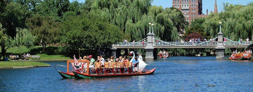 Explore the wonderful public parks in Boston!