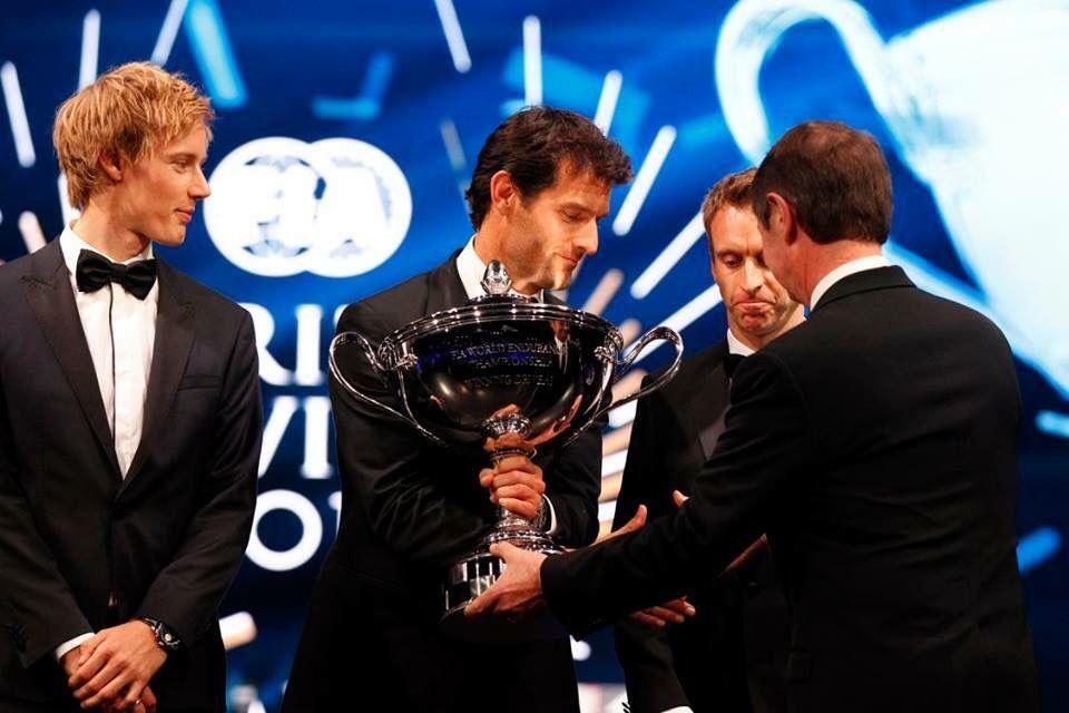 Mark @ FIA Prize Giving in Paris, 04/12/2015