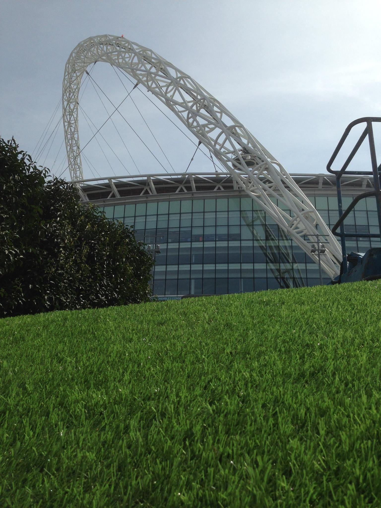 Nomow Artificial Grass at #WembleyStadium brand new for Spring 2014! #Nomow #Play365