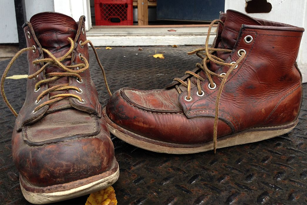 95e0a1e9376 Fade of the Day - Red Wing Classic Moc No. 875 (14 Months) | Classic ...