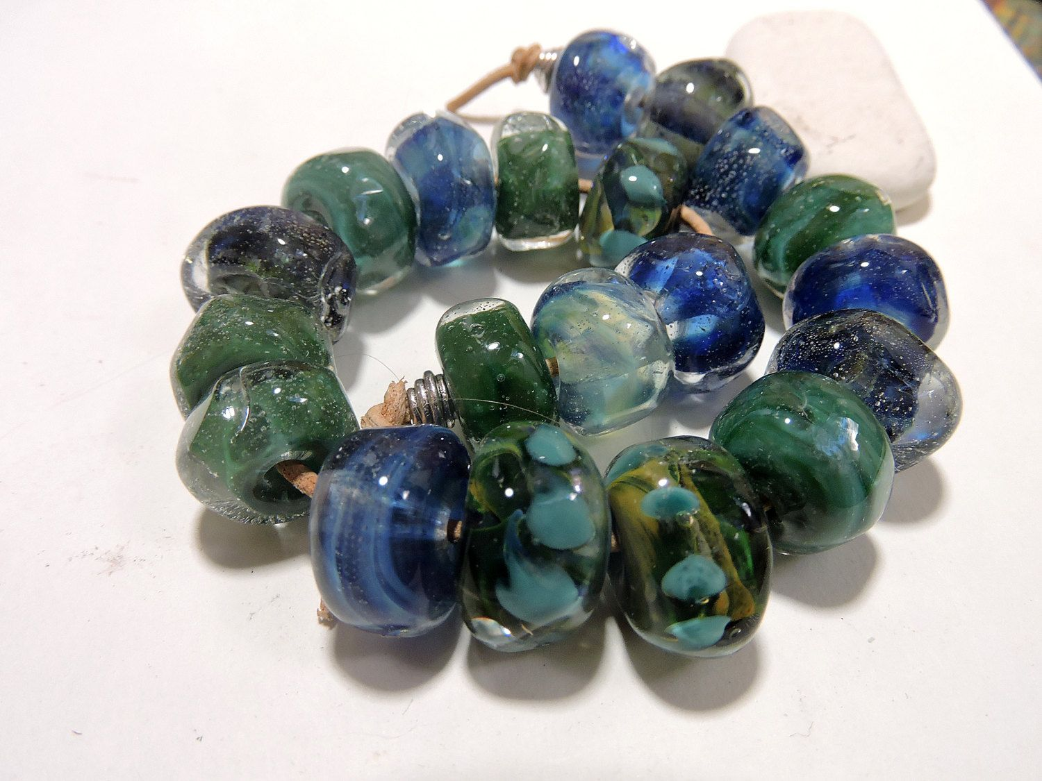 lampwork beads pacific two sisters designs 061116b by on etsy
