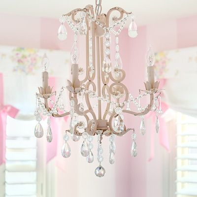 dance pink maddie room chandelier of baby girls lighting girl and small images moms bedroom ziegler chandeliers for