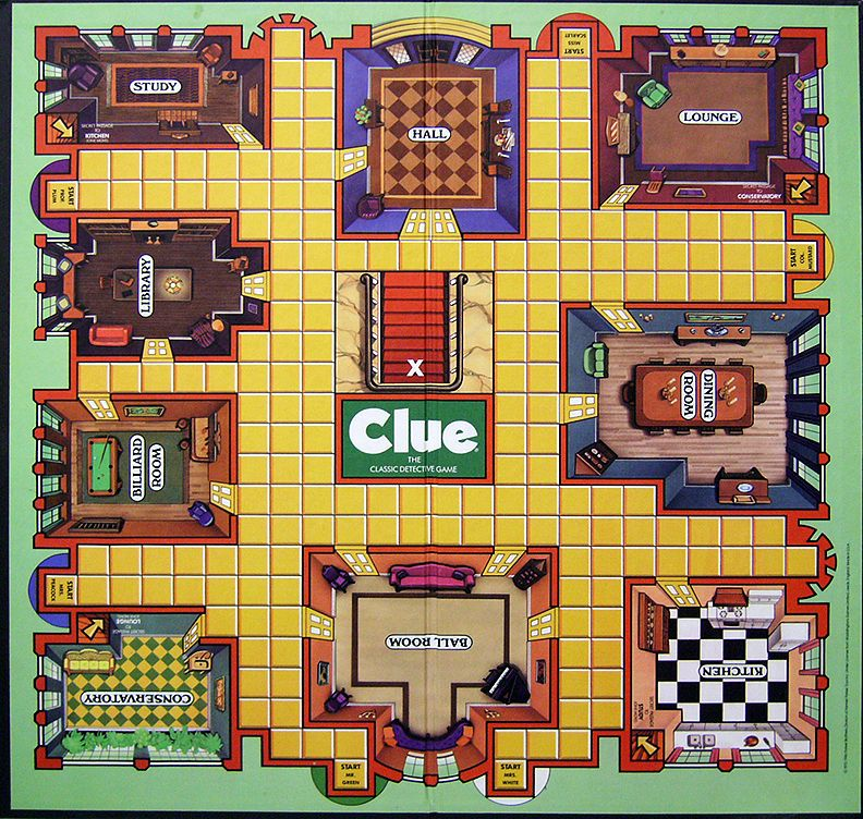 clue game board printable google search me me pinterest