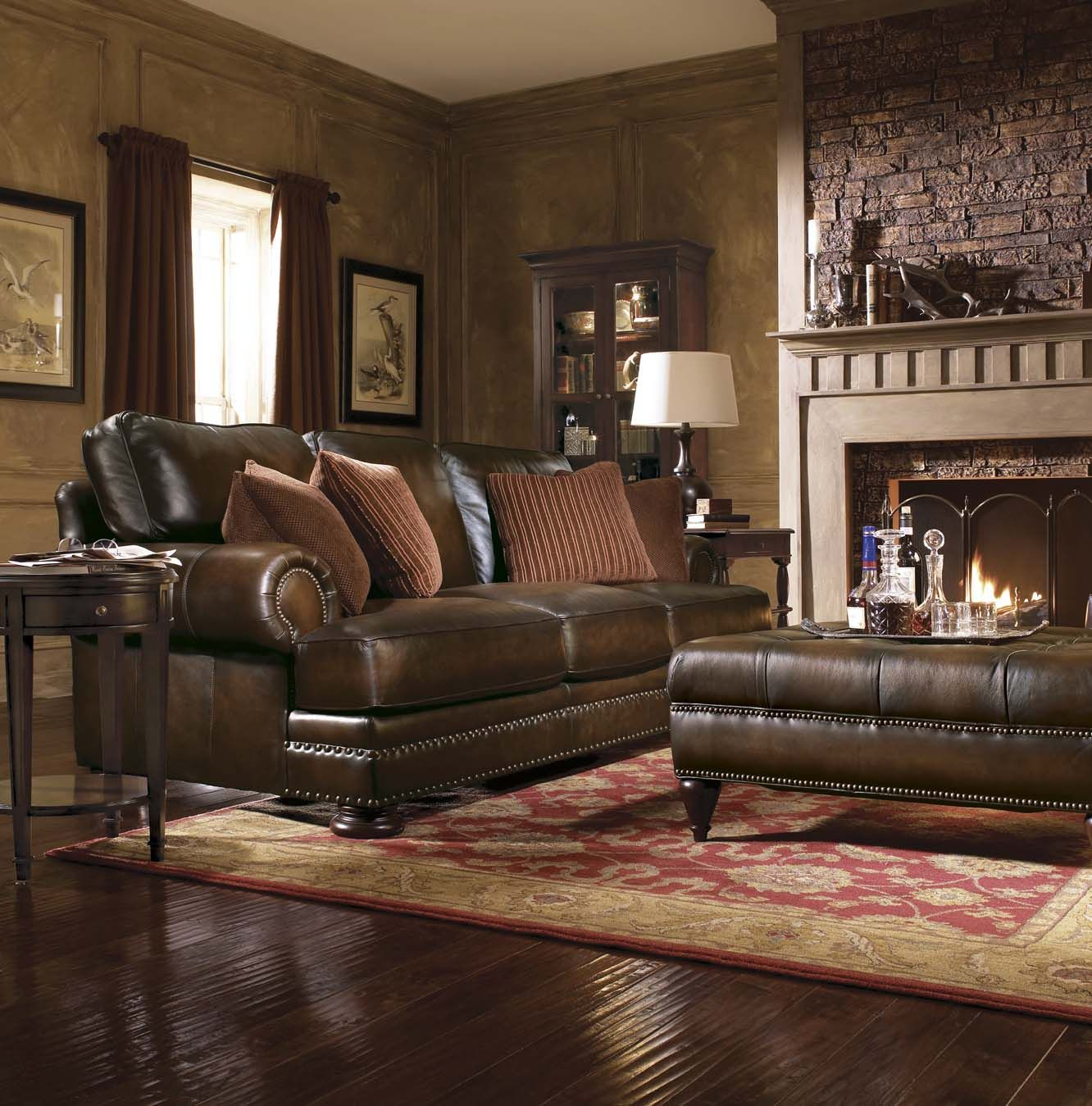 2293 Best Images About Leather Sofas And Living Room: Tips To Decorate Your Living Room Http