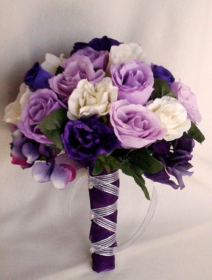 Cheap Silk Flower Bouquets for Weddings | Silk Wedding Bouquets ...