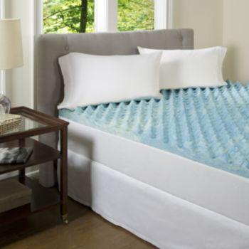 Comforpedic Beautyrest Big Comfort 3 In Gel Memory Foam Mattress Topper Twin Memory Foam