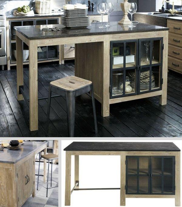 Îlot Central  Le TOP10 Pour Votre Cuisine ! Ikea furniture hacks - Armoire Ikea Porte Coulissante